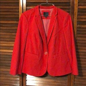 The Limited Red Blazer 3/4 sleeve Like New Medium